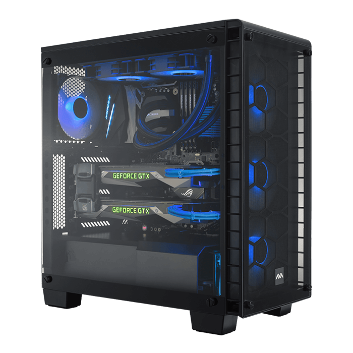 avant tower gaming pc avadirect