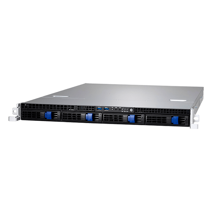 1U Rack Server - GT24BB5542 (B5542G24BV4HR) Intel Xeon® E3-1200 v6 SAS/SATA Series Server System
