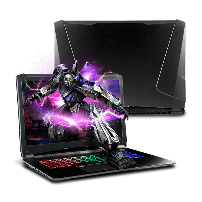 Gaming Laptop - Quick Ship Clevo PA71HS-G 17.3