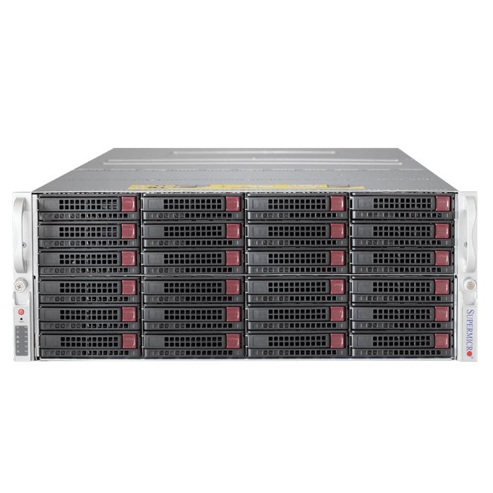 Storage Server - 6048R-E1CR24N Xeon® E5-2600 v3/v4 SATA/SAS SuperStorage Server System