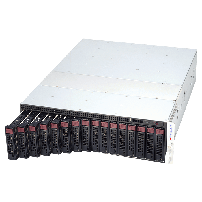 Supermicro 5037MC-H8TRF Xeon® E3-1200 V2 SATA Series 8-Node MicroCloud™ Server System