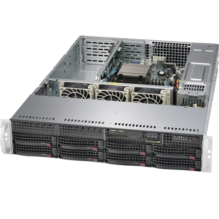 Supermicro® SuperServer 5028R-WR Xeon® 2600 v3 SATA Series Server System