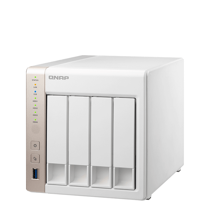 QNAP - TS 451 4-Bay SATA NAS Server Storage System