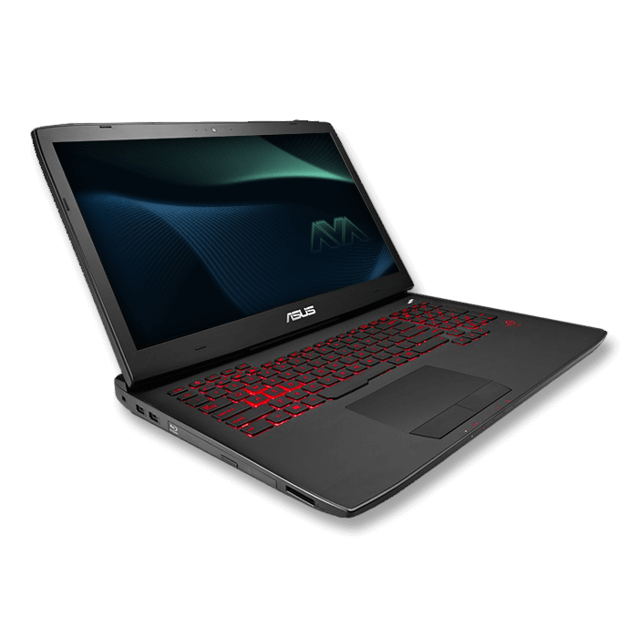 ASUS G751JL-DS71 Gaming Laptop Core i7 4720HQ,  17.3', NVIDIA GeForce GTX 965M 2GB Graphics