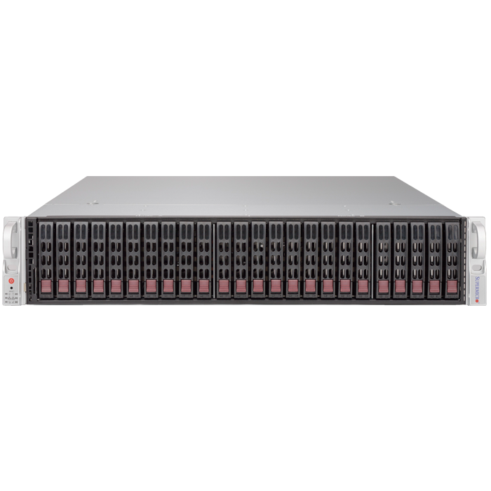 2028R-E1CR24L Xeon® E5-2600 v3 SATA/SAS SuperStorage Server System