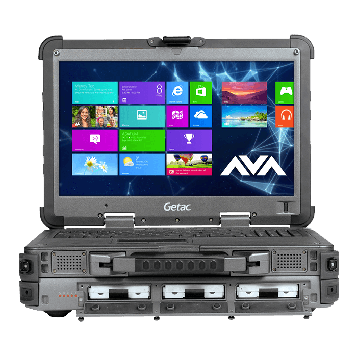Rugged Notebook - Getac X500 Server Core™ i7 Quad-core, Server Rugged Notebook, 15.6