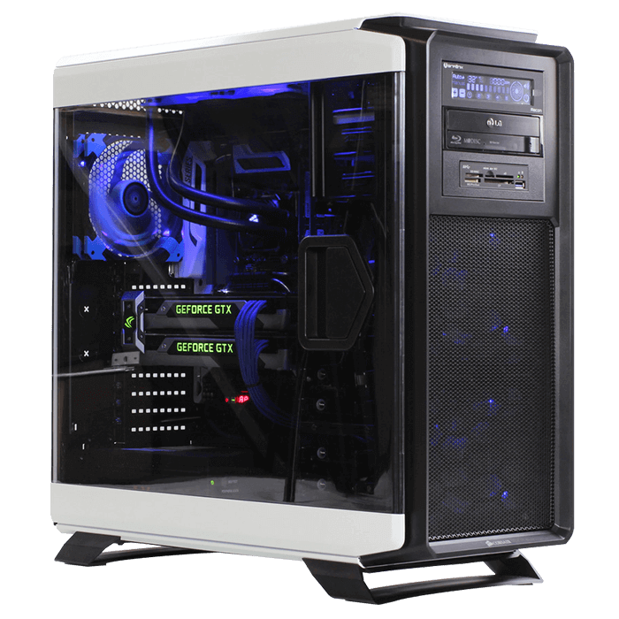 Gaming Desktop - Powered By Intel Haswell-E / Broadwell-E Core™ i7, X99 Chipset, 4-way SLI® / CrossFireX™ Custom Gaming Desktop