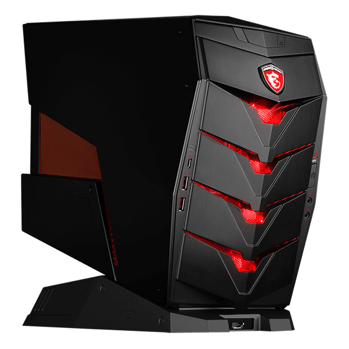 Mini Gaming Desktop - MSI AEGIS X, Powered By Intel 6th Gen Skylake Core™ i3 / i5 / i7, Z170 Chipset, Compact Gaming Desktop