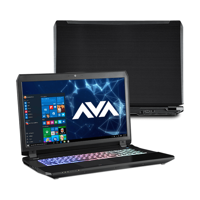 Gaming Laptop - Quick Ship Clevo P670RP6 17.3