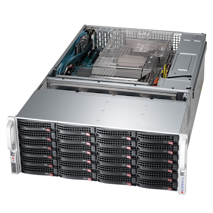 Storage Server - 6047R-E1CR36N Xeon® E5-2600 v2 SATA/SAS SuperStorage Server System