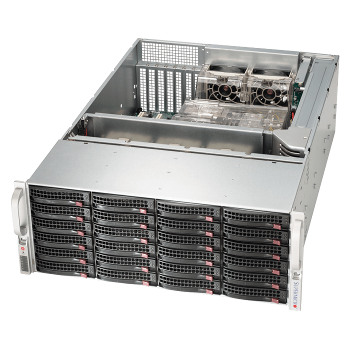 Storage Server - 6048R-E1CR24H Xeon® E5-2600 v3/v4 SATA/SAS SuperStorage Server System