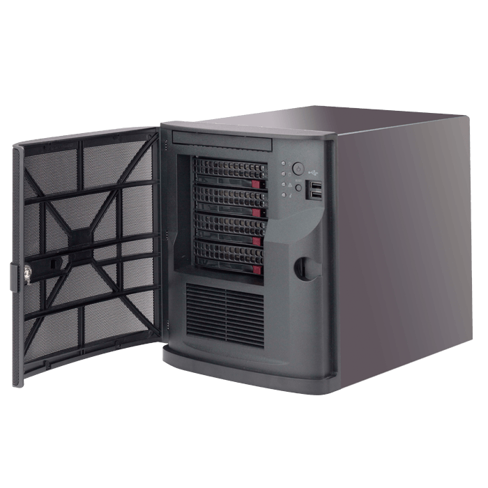 Supermicro Server - 5028L-TN2 Xeon® E3-1200 v3 and 4th Gen Core i7/i5/i3 SATA Series Mini-Tower Server