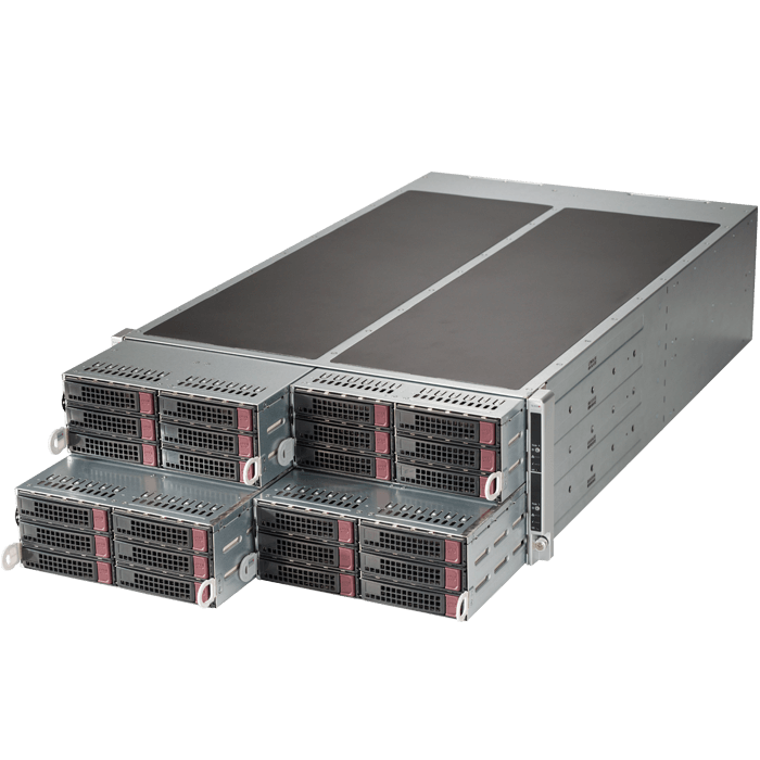4U Rack Server - F628R3-RTB+ Octa Xeon® E5-2600 v3/v4 SATA Series 4U Rack Server