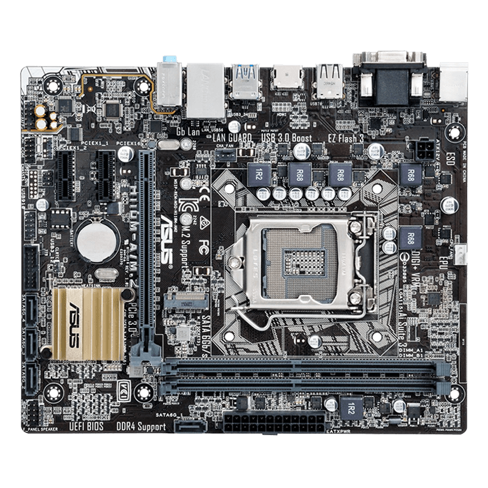 ASUS H110M-A/M.2 H110 1151 DDR4 32GB microATX Motherboard ...