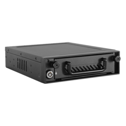 iStarUSA BPN-DE110P-BLACK 5.25 to 3.5 HDD 12 Gb//s Rack with Independent Power Switch