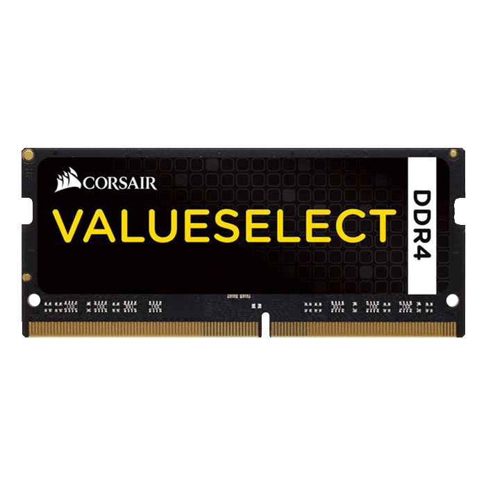 4GB ValueSelect DDR4 2133MHz, CL15, Black, SO-DIMM Memory
