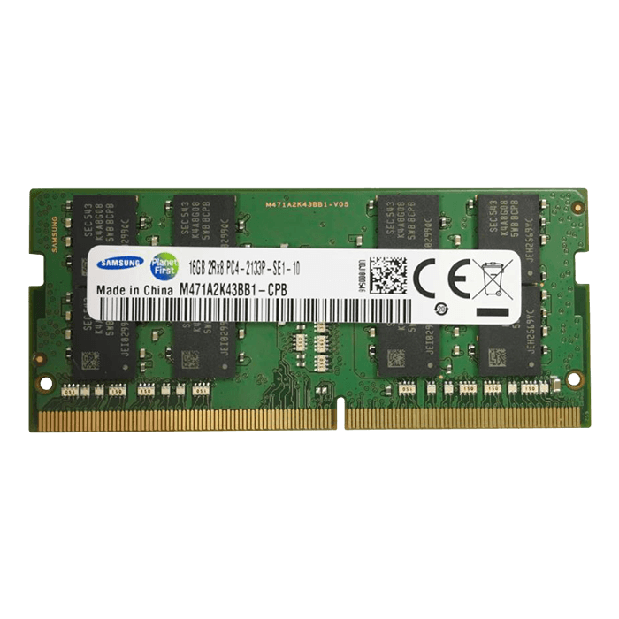 16GB (M471A2K43BB1-CPB) DDR4 2133MHz, CL15, SO-DIMM Memory