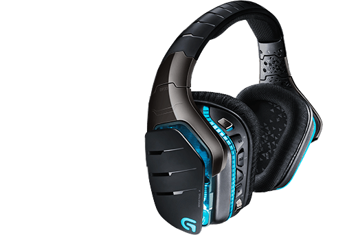 G933 Artemis Spectrum, RGB LED, 7 1 Surround Sound, Wireless, Black, Gaming  Headset