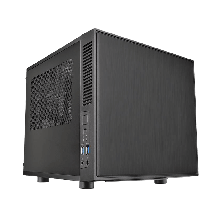 Suppressor F1 w/ Window, No PSU, Mini-ITX, Black, Mini Cube Case