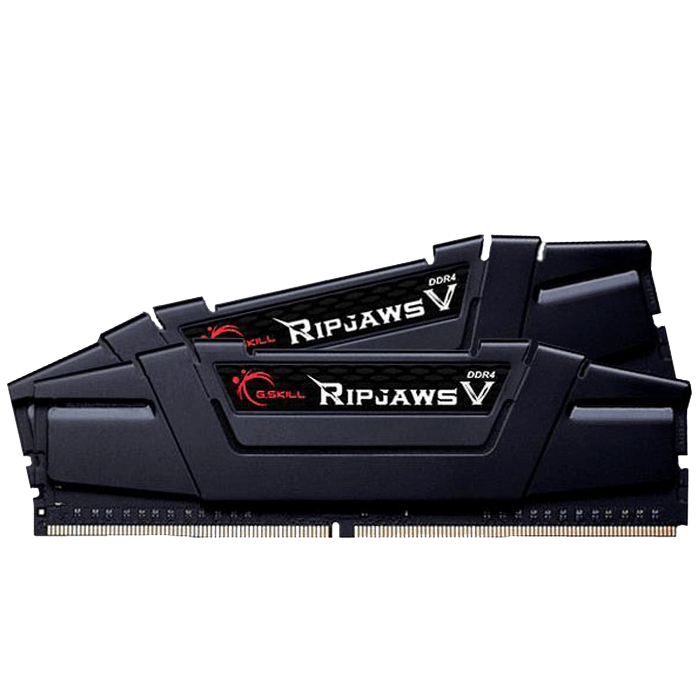 16GB Kit (2 x 8GB) Ripjaws V DDR4 3200MHz, CL16, Black, DIMM Memory