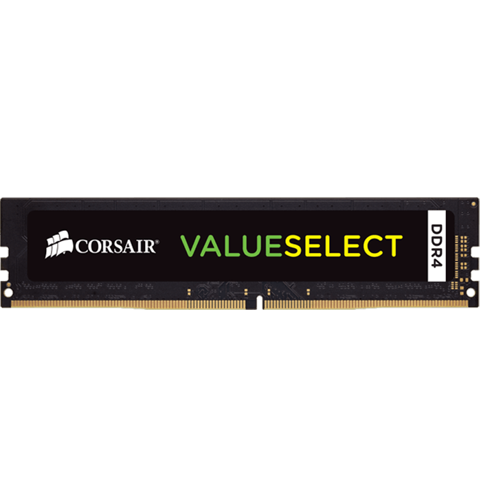 16GB ValueSelect DDR4 2133MHz, CL15, Black, DIMM Memory