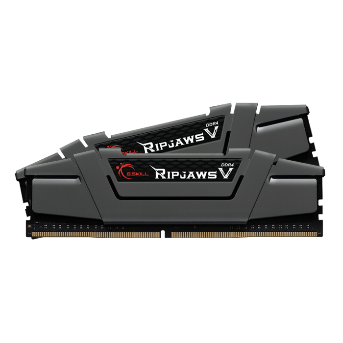 16GB Kit (2 x 8GB) Ripjaws V DDR4 3000MHz, CL15, Grey, DIMM Memory