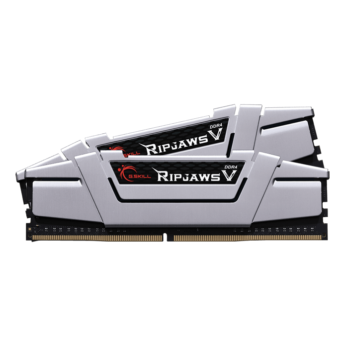 16GB Kit (2 x 8GB) Ripjaws V DDR4 3000MHz, CL15, Silver, DIMM Memory