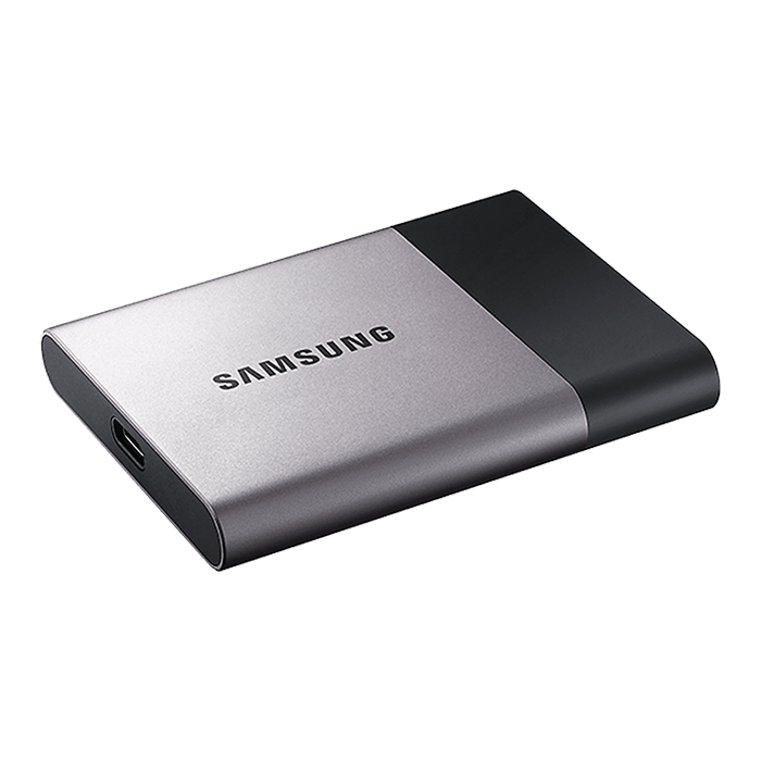 500GB T3 Portable 450 / 450 MB/s, V-NAND, USB 3.1, Retail External SSD