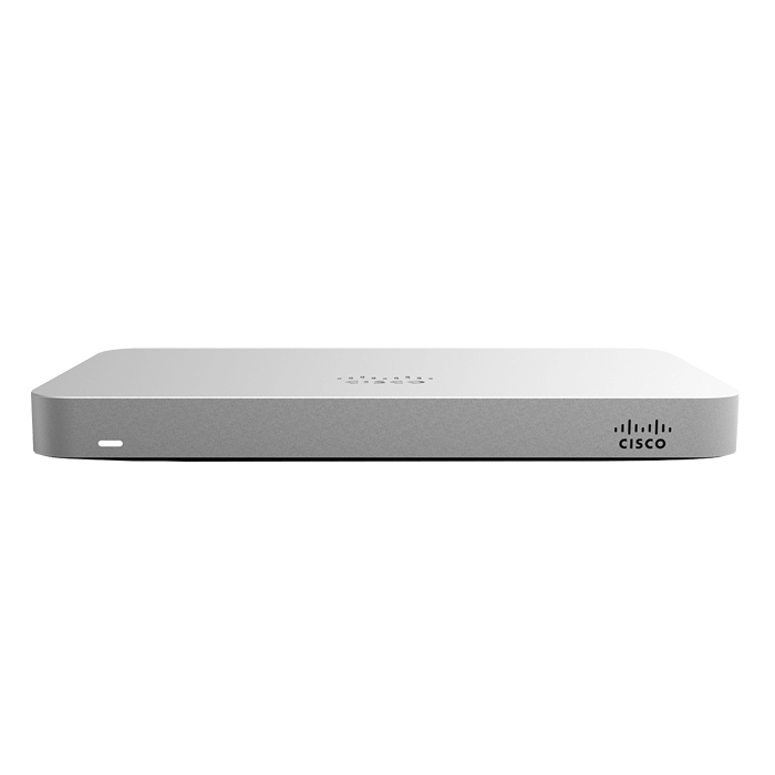 Meraki MX64 5 PORT-10/100/1000BASE-T Cloud Managed Firewall