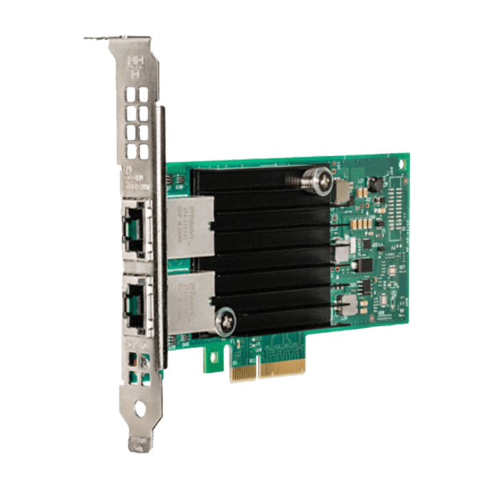 10Gbps Ethernet Converged Network Adapter, X550-T2, (2x RJ45)
