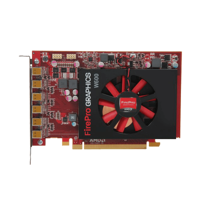 FirePro W600 100-505968, 600MHz, 2GB GDDR5, Graphics Card