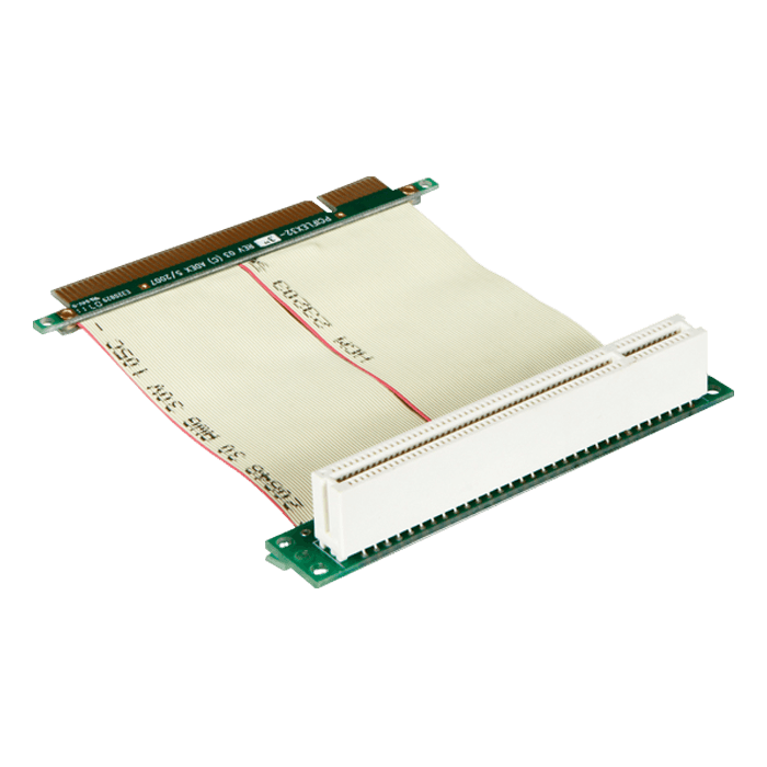 DD-711R-C5-02, PCI to PCI Reversed Riser Card with 5cm Ribbon Cable