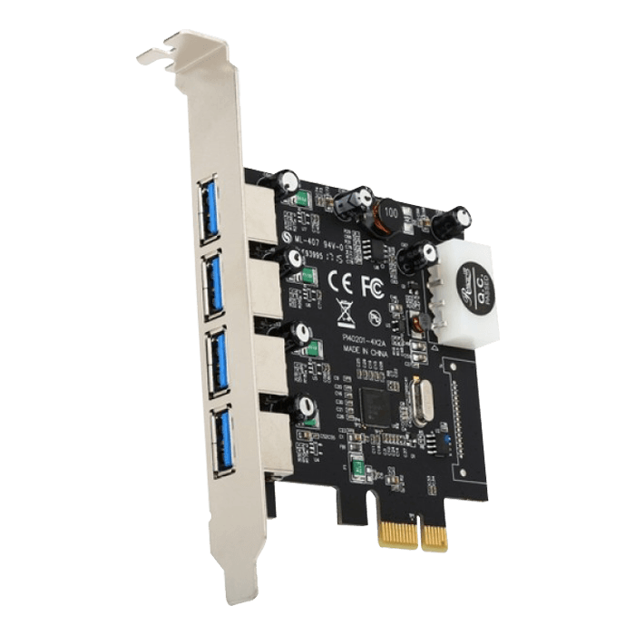 Rosewill RC-508 USB 3.0 PCI-E Express Card with 4 USB 3.0 Ports, Speed Up to 5.0 Gbps