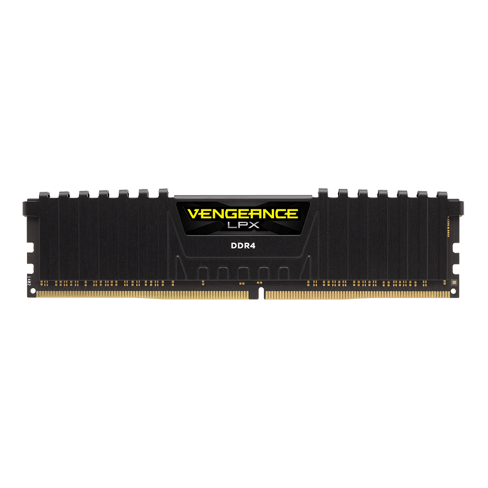 16GB Vengeance LPX DDR4 2400MHz, CL14, Black, DIMM Memory