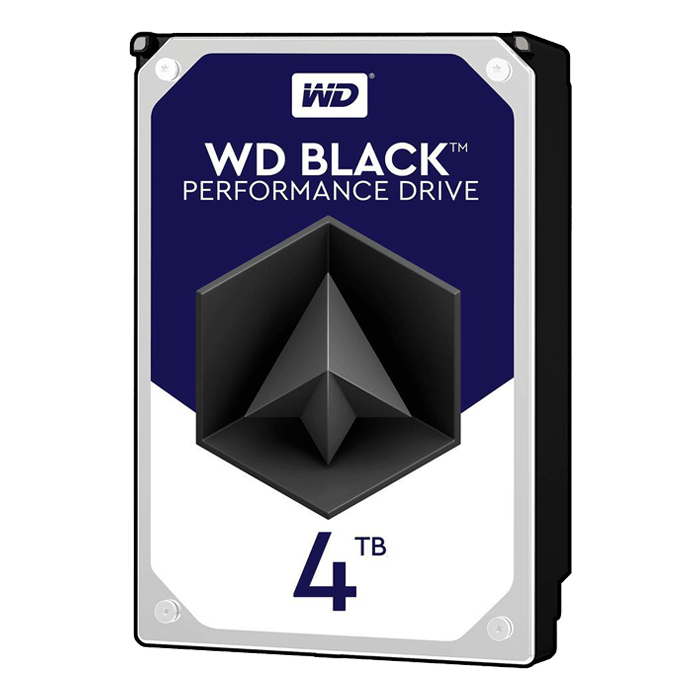 4TB Black WD4004FZWX, 7200 RPM, SATA 6Gb/s, 128MB cache, 3.5-Inch Retail HDD
