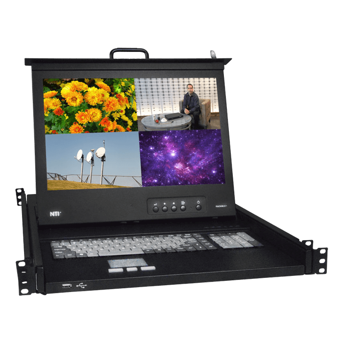 Rackmount KVM Drawer with HDMI Multiviewer & USB KVM Switch