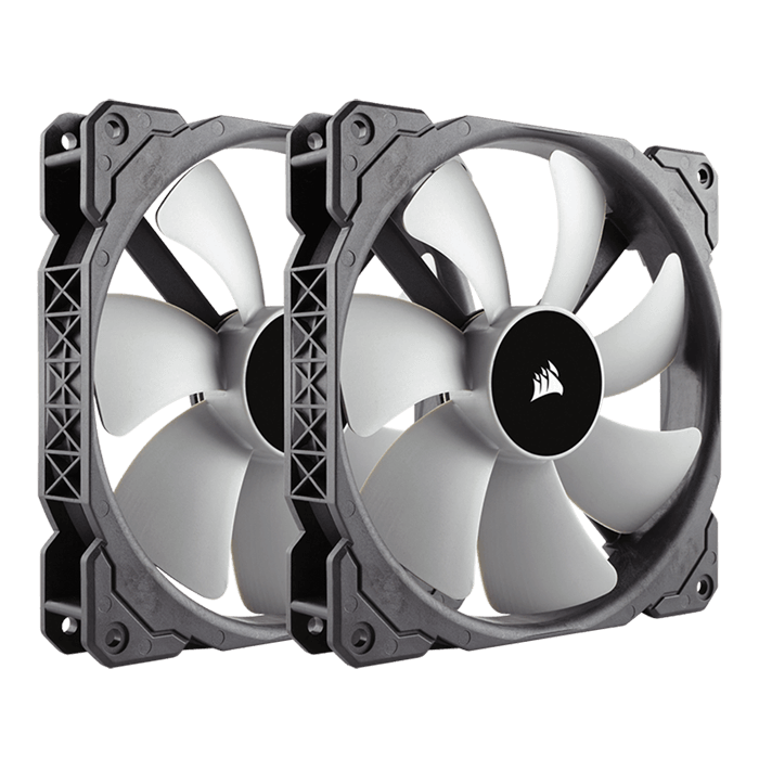 ML140 2 x 140mm, 2000 RPM, 97 CFM, 37 dBA, Cooling Fans