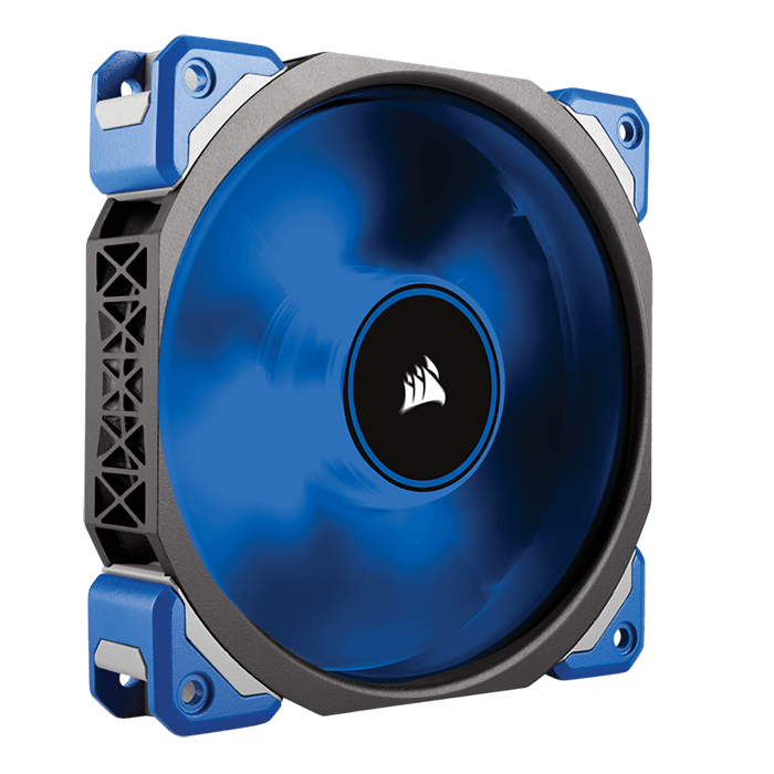 ML140 PRO 140mm, Blue LEDs, 2000 RPM, 97 CFM, 37 dBA, Cooling Fan