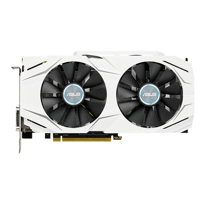GeForce GTX 1070 DUAL-GTX1070-O8G, 1582 - 1771MHz, 8GB GDDR5, Graphics Card