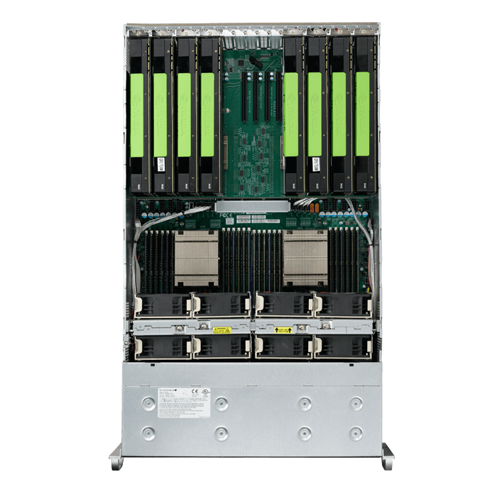 SuperServer 4028GR-TRT2, 4U, Intel C612, 24x SATA, 24x DDR4, Dual 10Gb Ethernet,  2x 2000W Rdt PSU