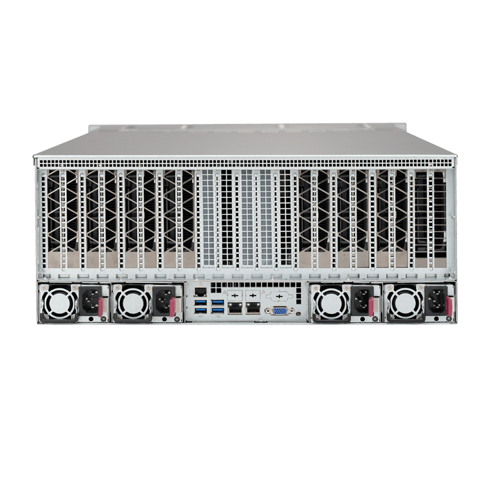 SuperServer 4028GR-TR2, 4U, Intel C612, 24x SATA, 24x DDR4, Dual 1Gb Ethernet,  2x 2000W Rdt PSU