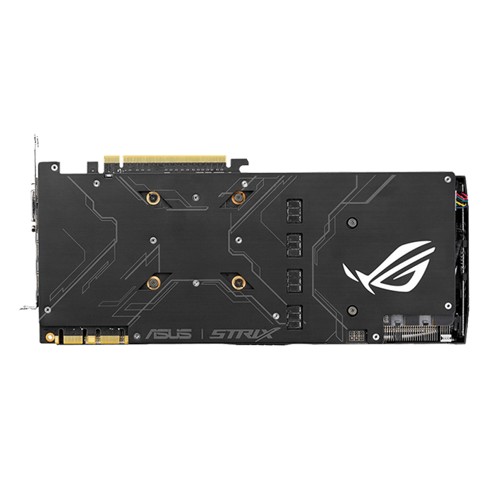 GeForce GTX 1080 ROG STRIX-GTX1080-A8G-GAMING, 1670 - 1835MHz, 8GB GDDR5X, Graphics Card