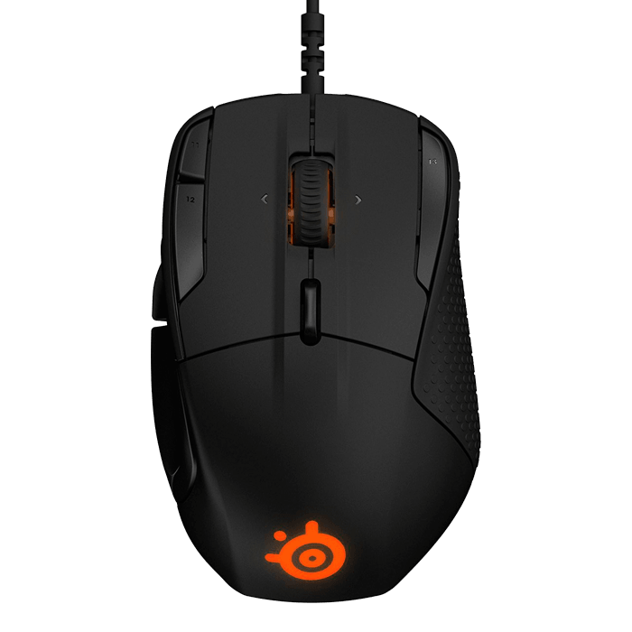 Rival 500, RGB LED, 16000cpi, Wired USB, Black, Optical Gaming Mouse