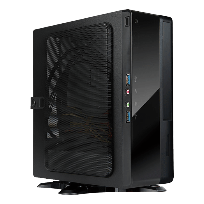 BQ656S, 150W PSU, Mini-ITX, Black, Slim Case