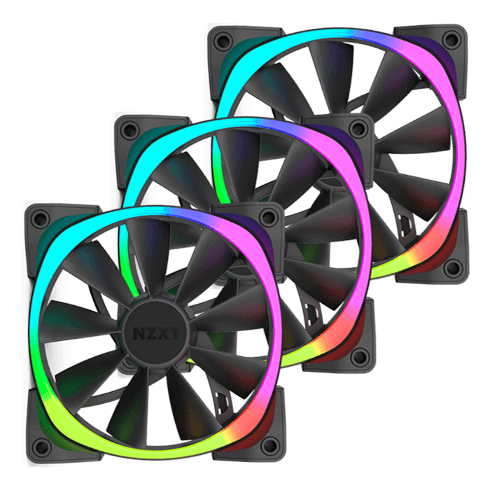 Aer RGB 3 x 140mm, 1500 RPM, 71.6 CFM, 33 dBA, Cooling Fan