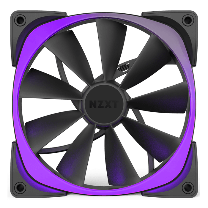 Aer RGB & HUE+ 120mm, w/ Controller, 1500 RPM, 61.4 CFM, 31 dBA, Cooling Fan
