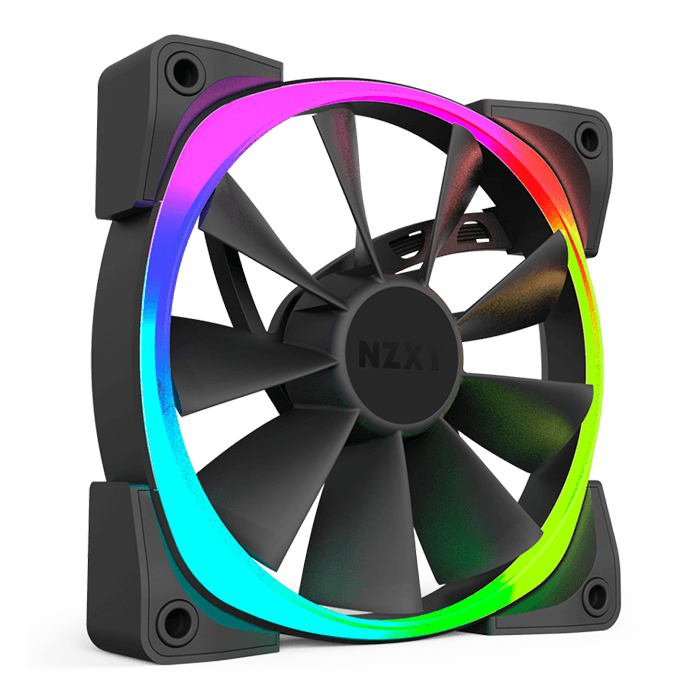 Aer RGB & HUE+ 140mm, w/ Controller, 1500 RPM, 71.6 CFM, 33 dBA, Cooling Fan