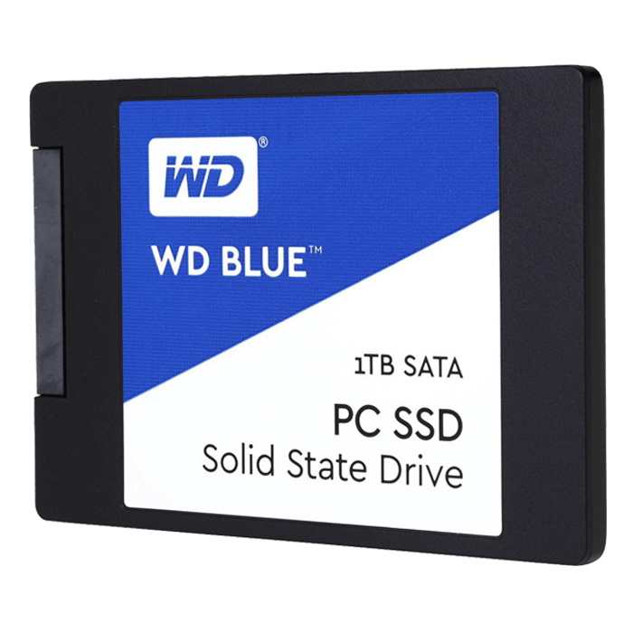 1TB Blue 7mm, 545 / 525 MB/s, TLC, SATA 6Gb/s, 2.5-Inch SSD