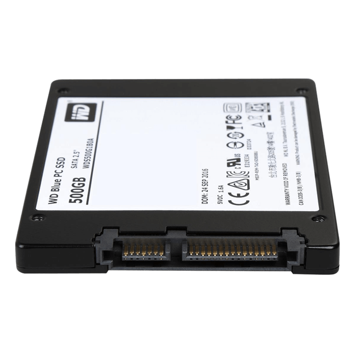 500GB Blue 7mm, 545 / 525 MB/s, TLC, SATA 6Gb/s, 2.5-Inch SSD