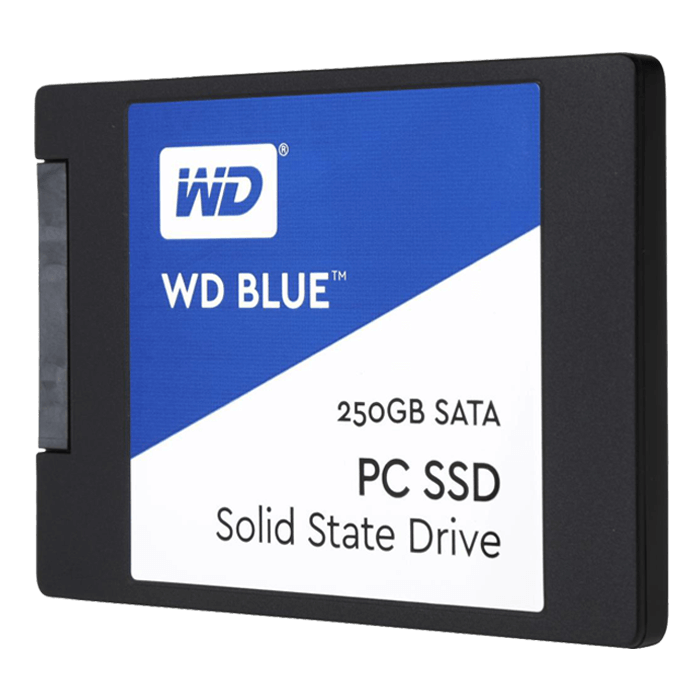 250GB Blue 7mm, 540 / 500 MB/s, TLC, SATA 6Gb/s, 2.5-Inch SSD